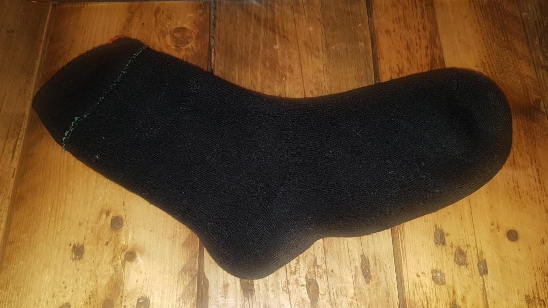 Die wasserdichten Socken von OTTER auf links