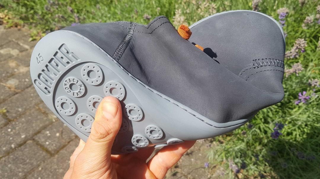 Der Schuh von CAMPER ist flexibel