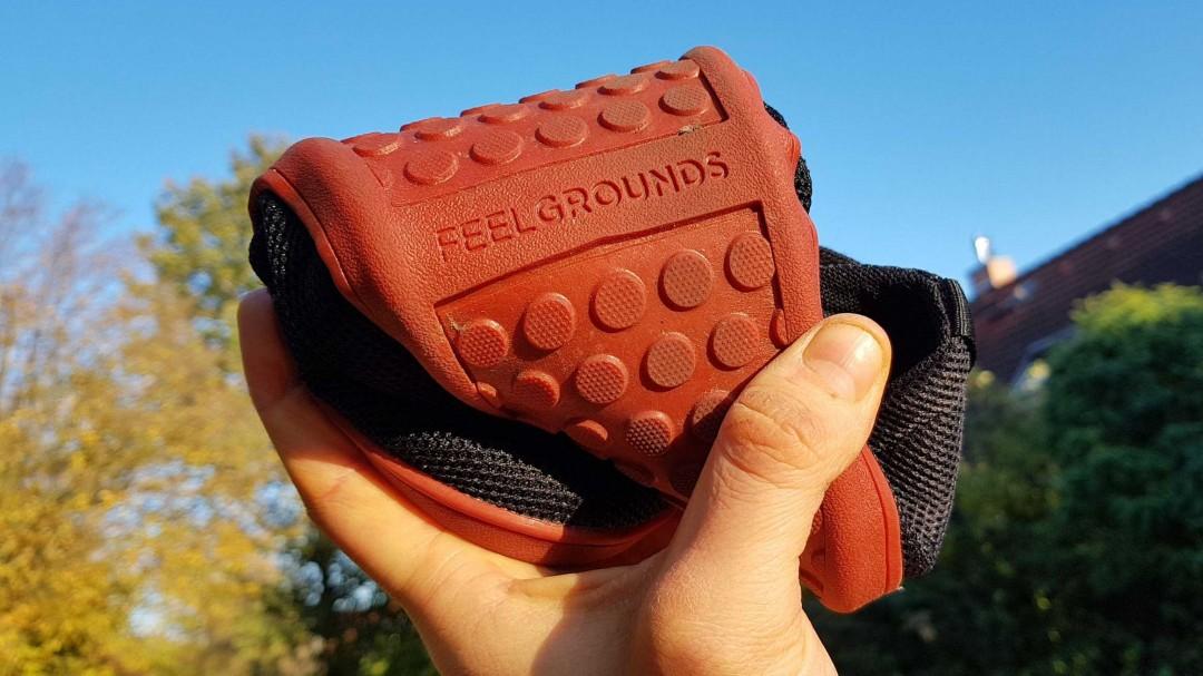 Feelgrounds Barfußschuh - Die Flexibilität ist vorhanden