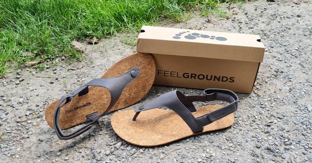 Feelgrounds Seaside - Test & Erfahrungen - Barfuß-Sandale