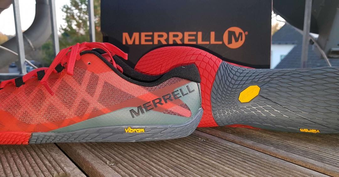 Merrell Vapor Glove 3 als Barfußschuh - Test, Erfahrungen und Meinung