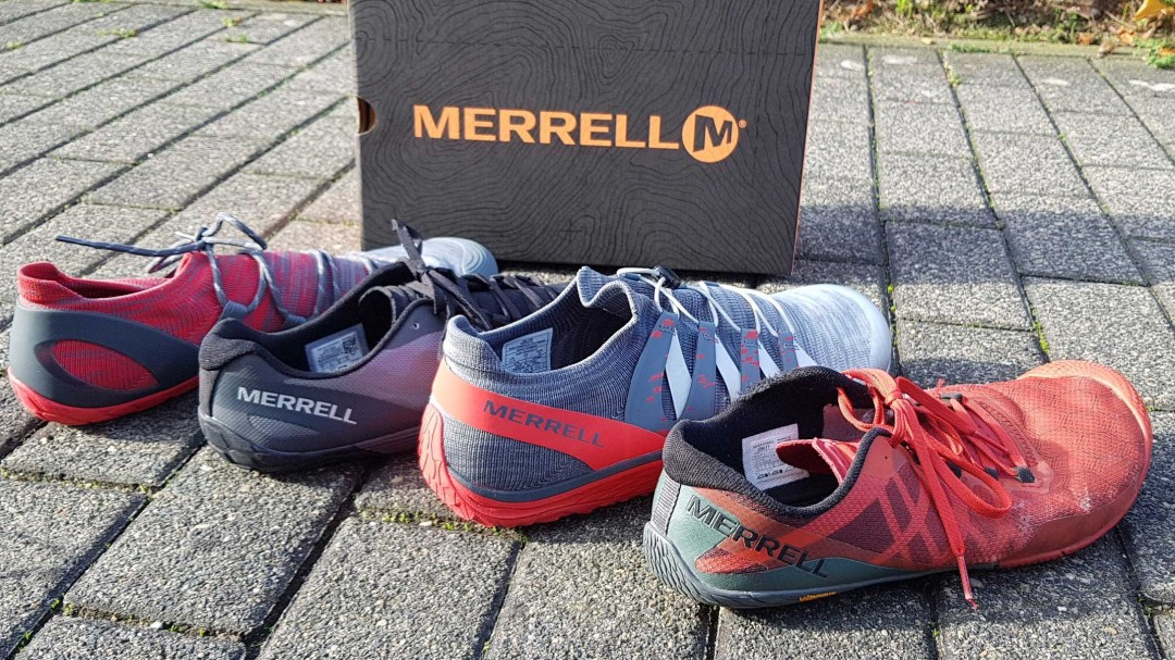 Barfußschuhe von Merrell in der Reihe