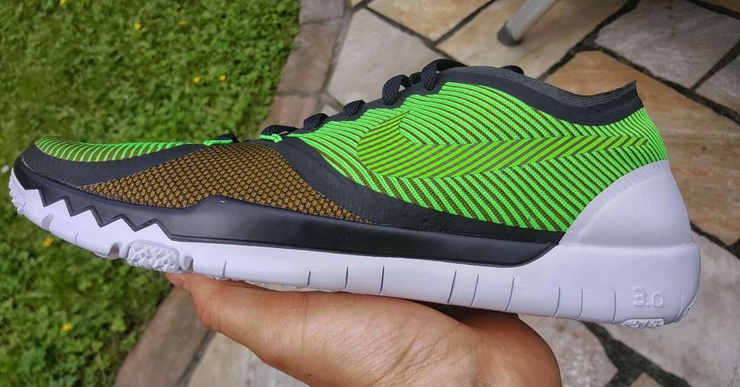 Nike Free sind keine Barfußschuhe!