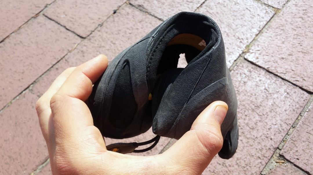 In der Flexibilität überzeugt mich der Schuh nicht zu 100%