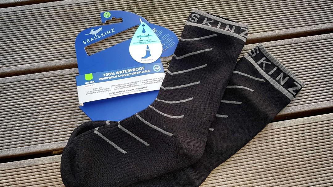 SealSkinz ist ein bekannter Hersteller für wasserdichte Socken