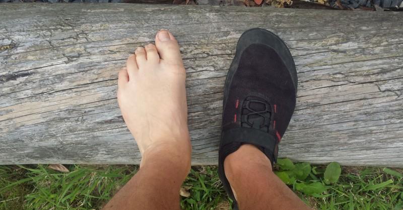 5 Gründe mit Barfußschuhen zu wandern