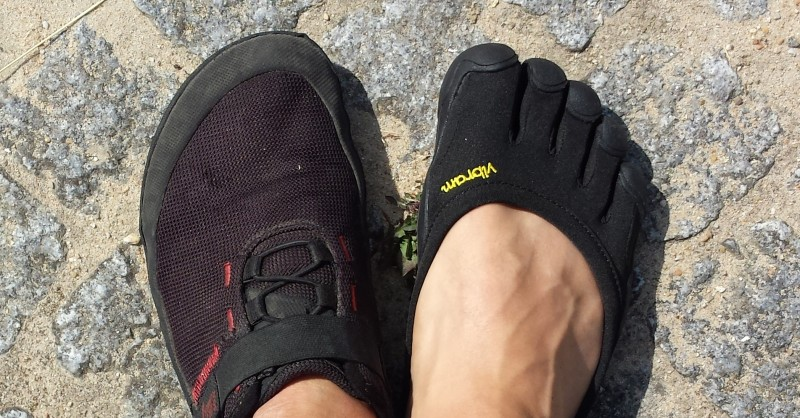 Barfußschuhe vs Zehenschuhe