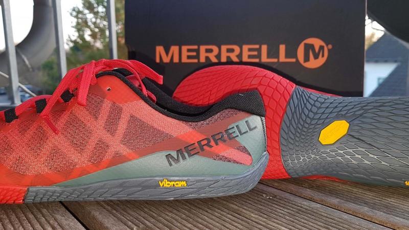 more photos de53b 88529 Marrell Vapor Glove 3 ist ein guter Minimalschuh für den Einstieg
