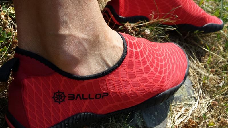 Ballop Spider ein Wasserschuh als Einstieg in das Thema Barfußgehen